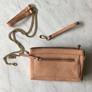 MMS Blush Clutch/Wristlet/Purse
